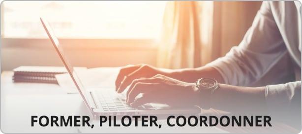Former, Piloter, Coordonner